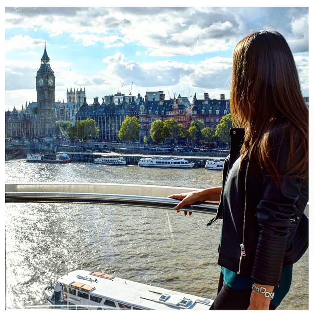 Priveliște din London Eye