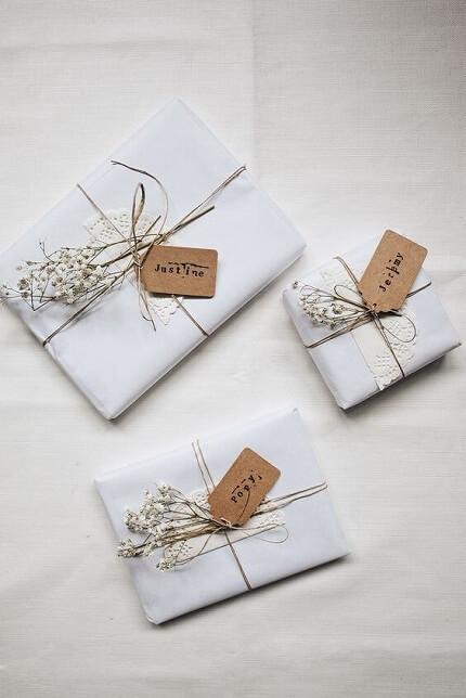 Idei pentru impachetarea cadourilor